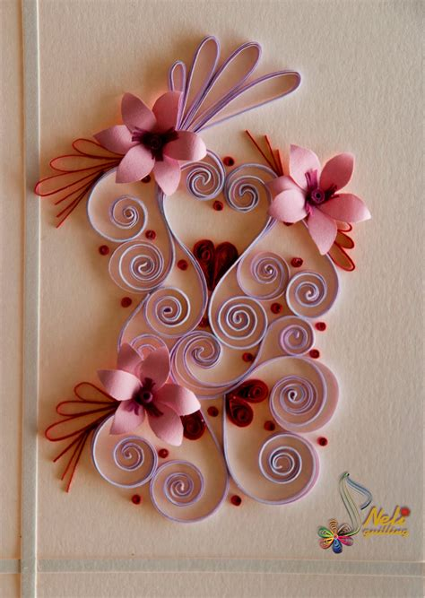themes with love neli quilling art quilling cards with love 2