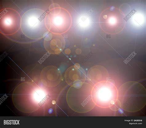 Stage Lights Glaring Showtime Image Photo Bigstock Showtime Lights