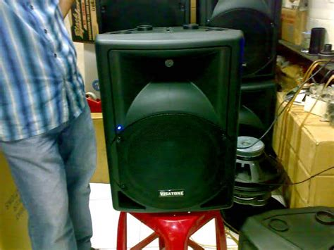 Speaker Aktif Fiber aktif speaker fiber 15 inch dan 12 inch mp3 player