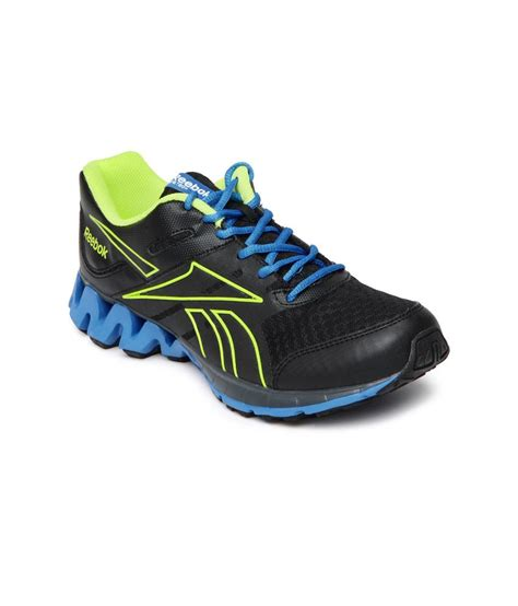 reebok zigkick black sport shoes price in india buy