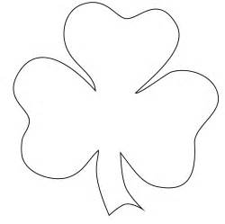 free printable shamrock coloring pages for - Clover Coloring Page