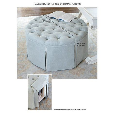 round tufted ottoman with skirt 1182 best images about furniture on pinterest