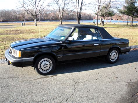 1986 dodge 600 convertible cross edition with 59k