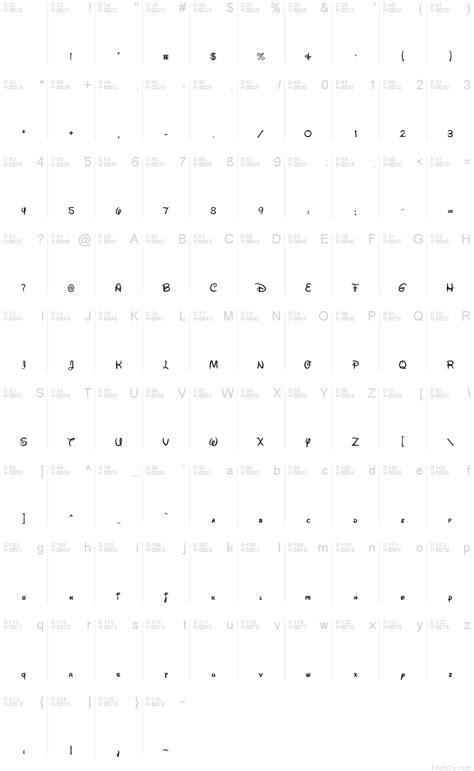 Walt Disney Script v4.1 font
