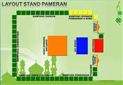 layout stand pameran layout pameran denah pameran perlengkapan pameran