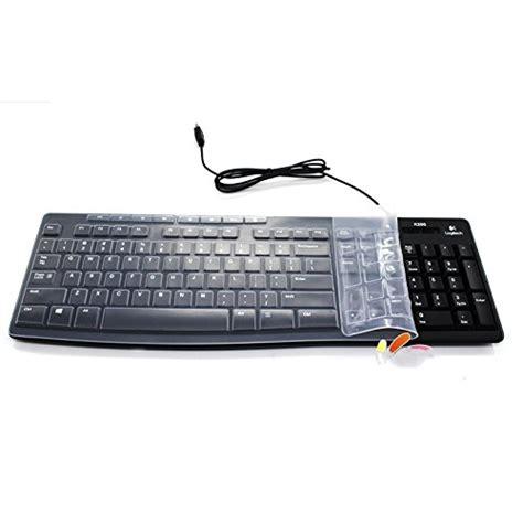 Keyboard Logitech Mk260 leze ultra thin silicone laptop keyboard cover skin protector for logitech mk200 mk270 mk260