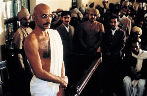 biography of mahatma gandhi movie gandhi 1982 richard attenborough synopsis