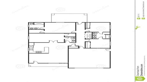 large family house floor plans single family home 4 single family house plans free single floor house plans