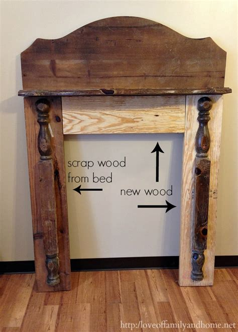 faux fireplace mantel 5 diy faux mantel ideas stow tellu