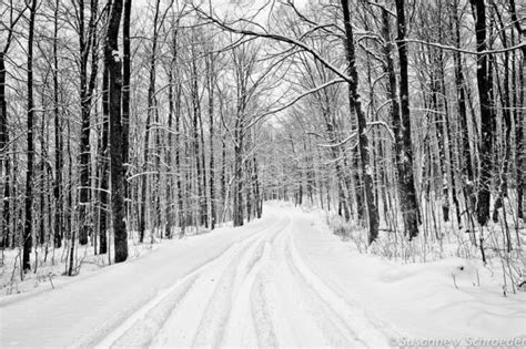 Metro Snow White Soft 60g black white photography winter landscape snowy road