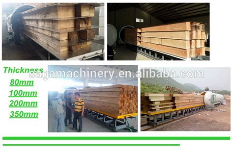 Radio Vacuum Wood Drying Oven Timber Kiln Dryer For Sale 4
