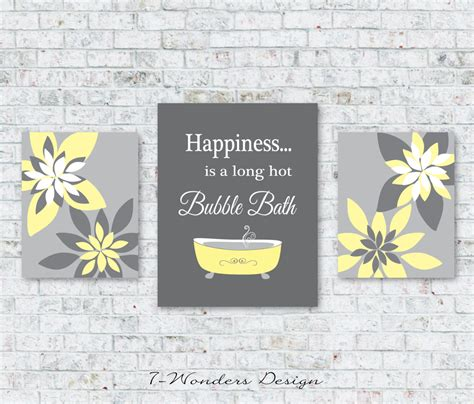 Modern Bathroom Prints Modern Bathroom Prints Happiness Is A By