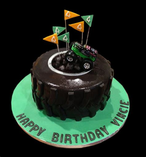 grave digger truck cake grave digger truck birthday cake cakecentral com