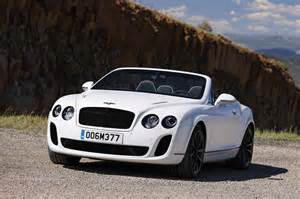 Bentley Sport Convertible Photos Bentley Continental Supersports Convertible