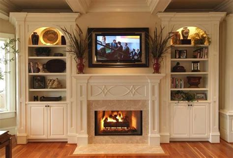 decorating built ins fireplace and built ins home decorating diy