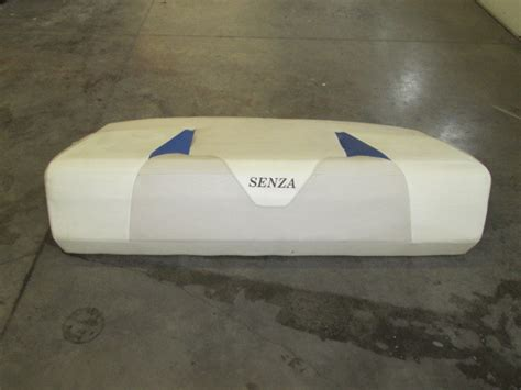 rear larson senza sundeck cushion marine sign auction - Larson Boat Cushions