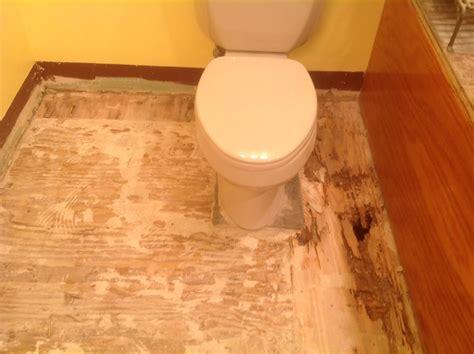 diy bathroom floor replacement bathroom gutting subfloor replacement flooring diy