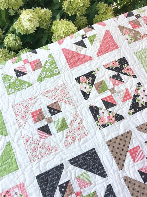 Quilting Layer Cake by Carried Away Quilting New Pattern Window Garden