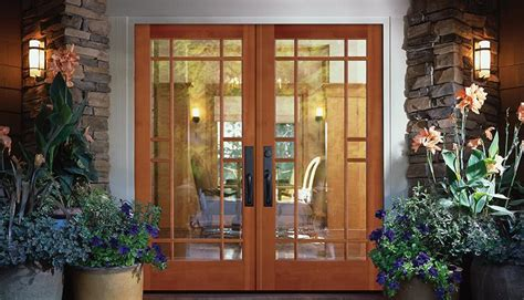 french doors exterior simple  stunning ideas