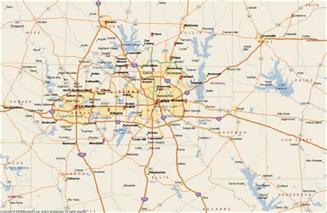 printable map of dfw area dfw metroplex map dallas fort worth metroplex map texas
