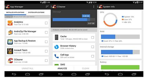 ccleaner apk for android ccleaner for android free cleaning apps