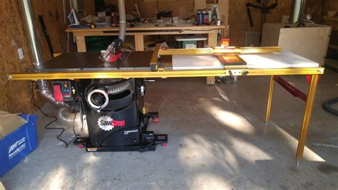 sawstop industrial cabinet saw review review sawstop pcs with incra ts ls and dust collection