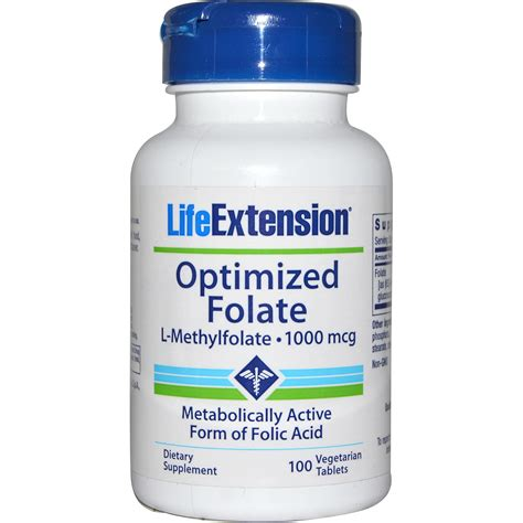 Mcg For Methhet Detox F Folate Supplements by Extension Optimized Folate 1000 Mcg 100 Veggie