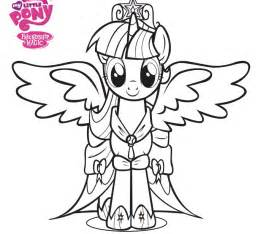 free coloring pages of my little pony coronation