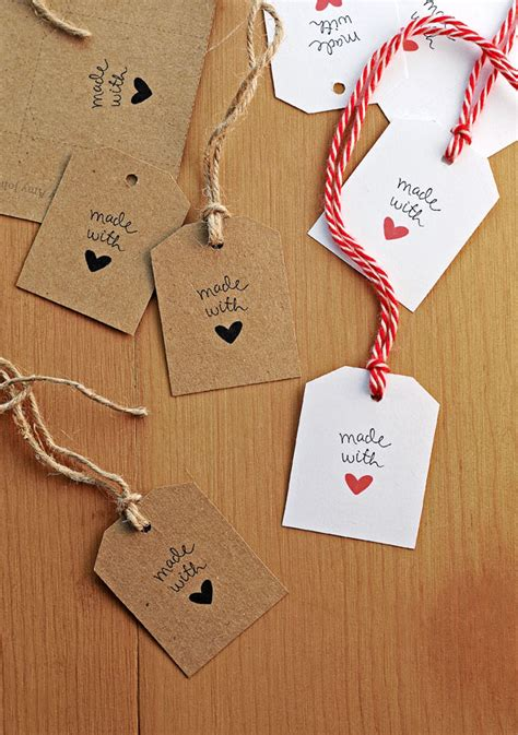 printable handmade paper uk free made with love gift tags she wears many hats