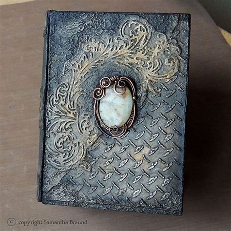 libro the gothic art of jade gothic book steunk influenced altered book by samantha braund altered books