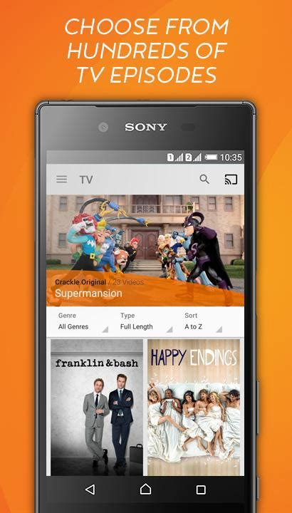 crackle apk crackle free tv android apps on play