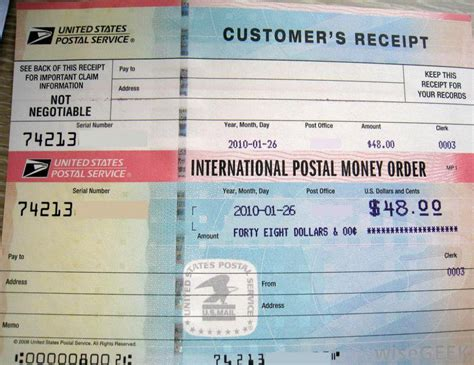 Money Order Post Office by How Do I A Money Order With Pictures