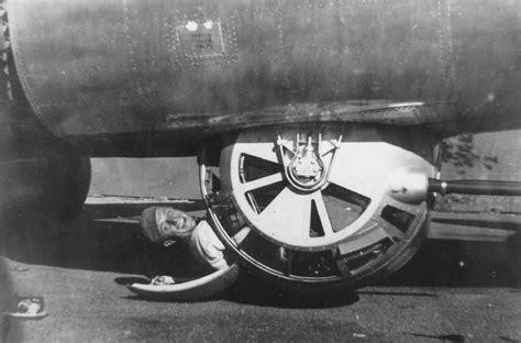 Consolidated B-24 Liberator BALL TURRET PTO | World War Photos B 24 Ball Turret