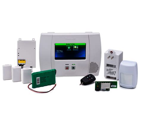honeywell l5200pk wifi 3g dual path security system kit