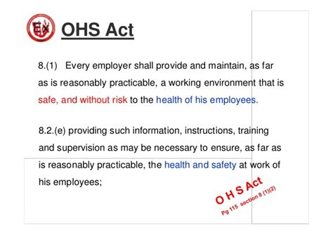 section 8 ohs act competency of staff new 4