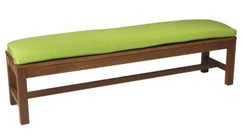 6 foot bench cushion new hemisphere ipe wood outdoor furniture