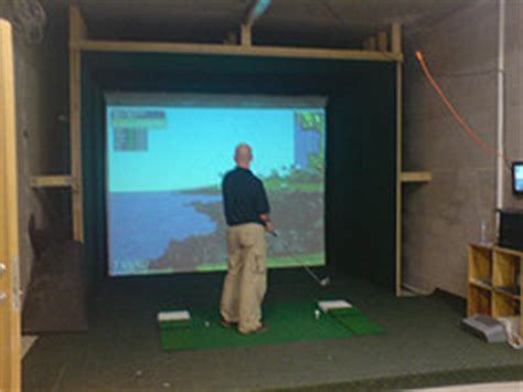used full swing golf simulator for sale golf pet peeve 11 golf simulators game under repair by