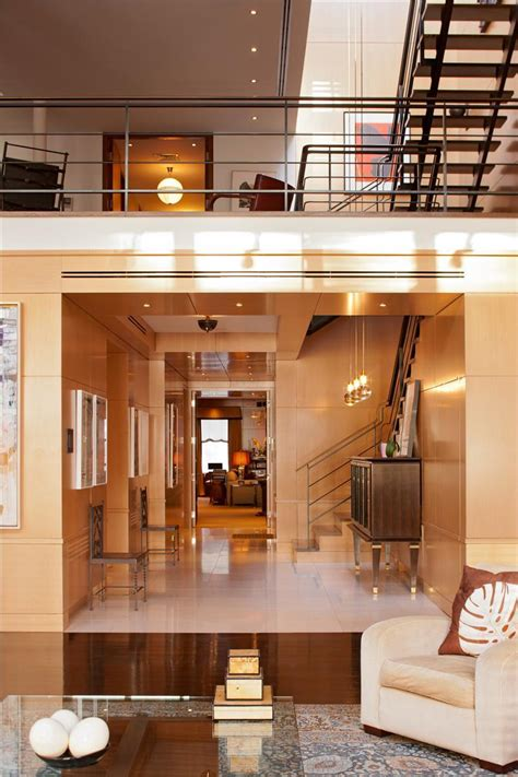 design house interiors york exclusive penthouse on new york city s duane street