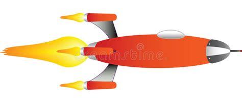 ship rocket rocket ship vector stock vector illustration of ship