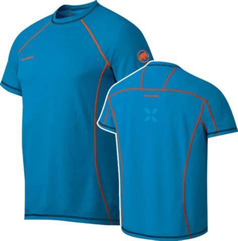 Kolor Eiger koszulka mammut eiger moench cyan cyan odzież odzież męska t shirts climbrock