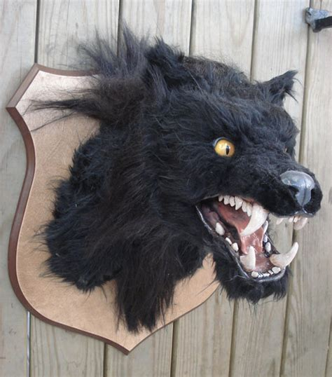 werewolf head tutorial halloween decor werewolf head big scary werewolves and