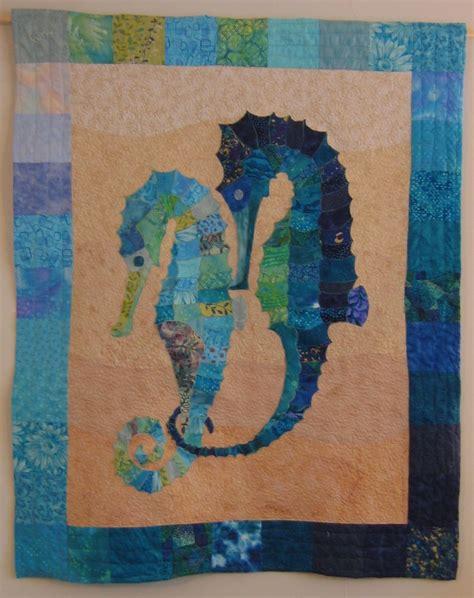 seahorse patchwork quilt quilts