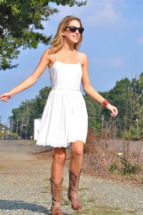 dress to wear with cowboy boots ariat s legend boot distressed brown