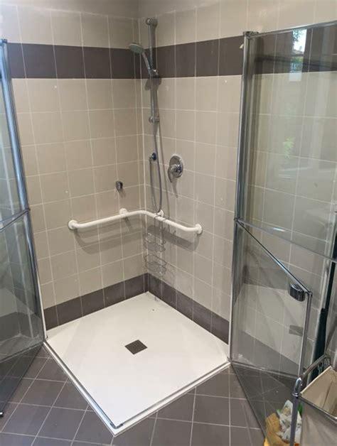 piatto doccia per disabili dimensioni bagno per handicappati idee creative di interni e mobili