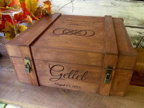 Wedding Ceremony Wine Box by Wedding Wine Box Large For Wedding Wine Ceremony