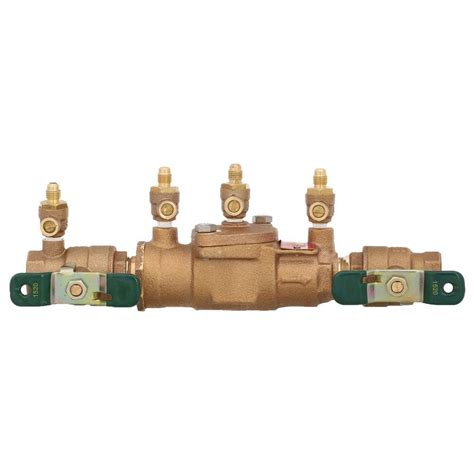 Backflow Preventer Plumbing by Watts 3 4 In Steel Earthquake Valve Agv 75 The Home Depot
