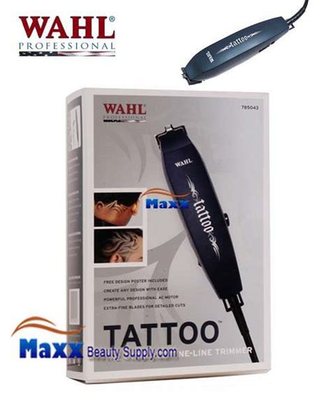 wahl tattoo trimmer wahl 8242 5 professional unicord combo clipper