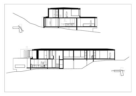 section houses gallery of catch the views house land arquitectos 18