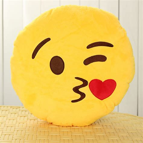 Emoticon Pillow by Emoji Smiley Emoticon Yellow Cushion Pillow Soft Alex Nld