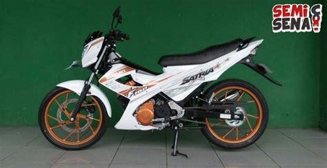Alarm Motor Fu spesifikasi dan harga suzuki satria fu 150 white fighter